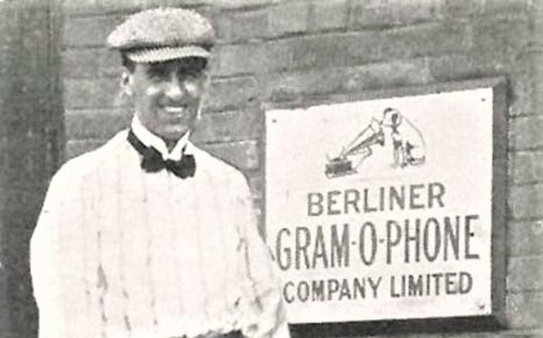 Herbert Berline in at his factory in Montreal