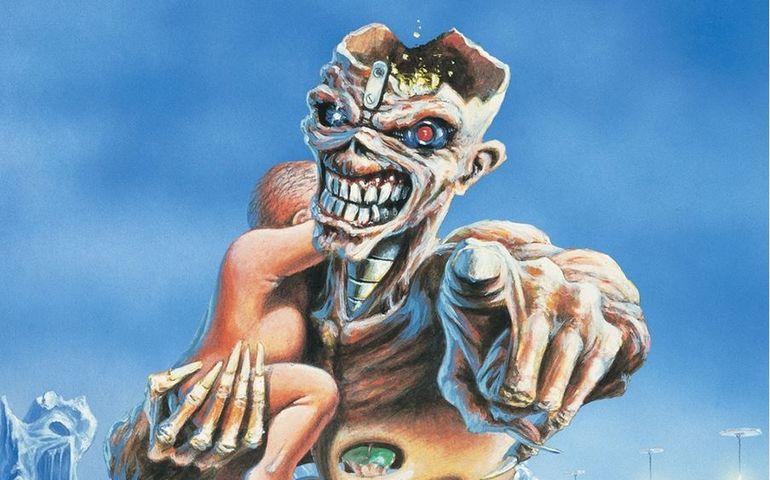 Iron Maiden Eddie image, Instagram