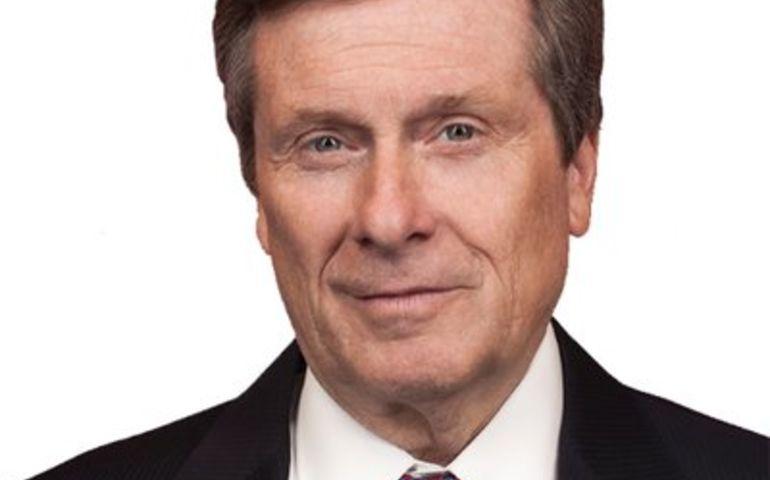Toronto City Mayor John Tory
