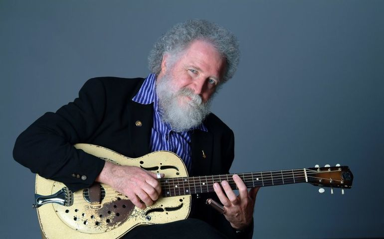 Maple Blues Award winner Ken Whiteley