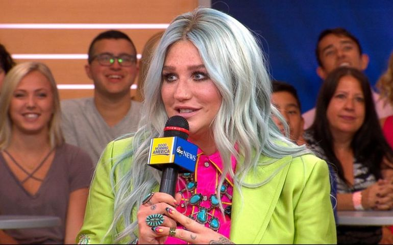Kesha is back with a new look and a new album out today