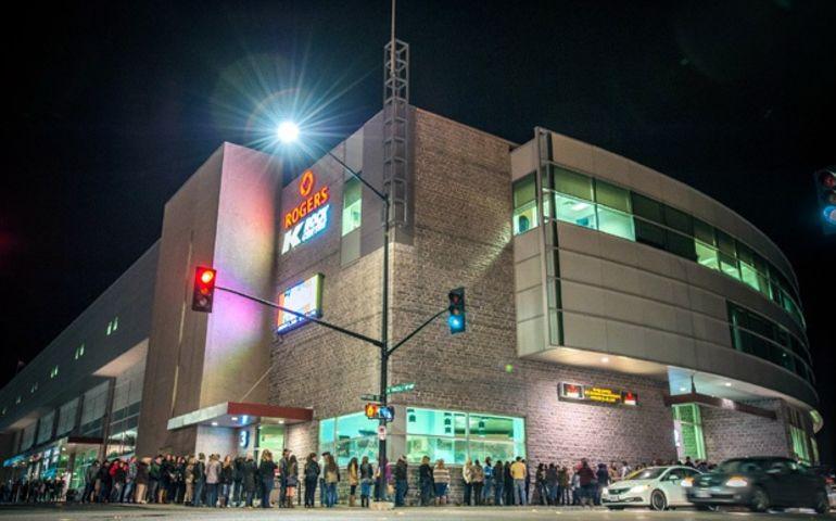 Kingston, ON's K-Rock Centre included