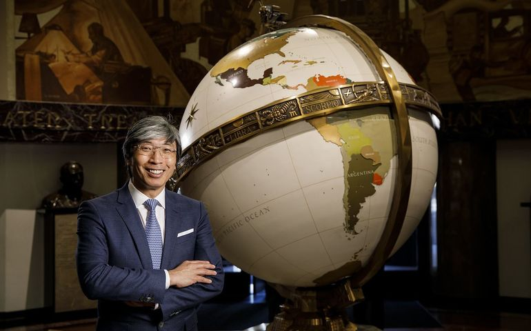 Dr. Patrick Soon-Shiong. Pic:Marcus Yam / Los Angeles Times