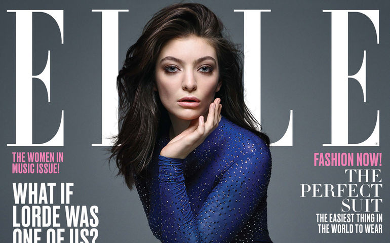 Lorde was Elle's cover girl in June