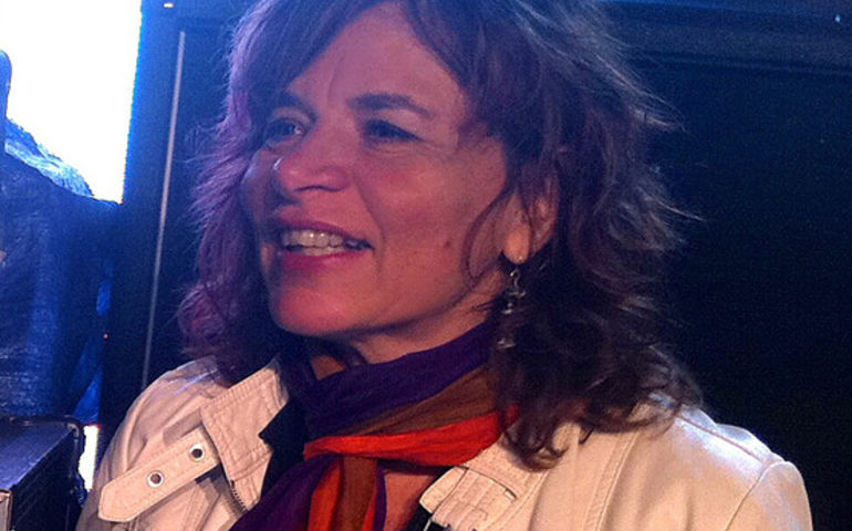 Lorraine Segato - pic: Barry Roden