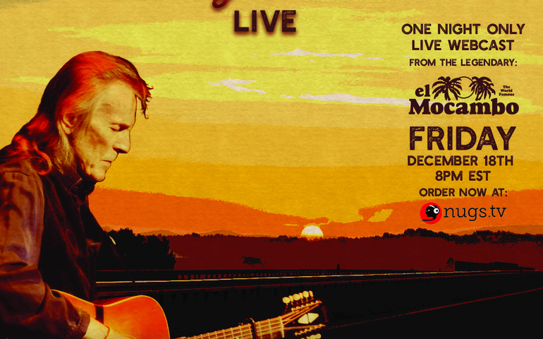 Gordon Lightfoot  graphic for El Mocambo live-stream