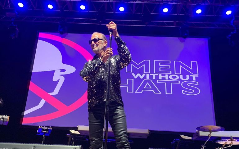 Men Without Hats leader Ivan Doroschuk Photo courtesy CSHF