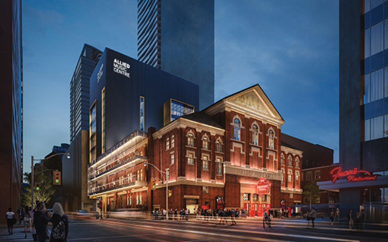 Allied Music Centre. Rendering courtesy of Massey Hall / KPMB Architects
