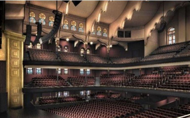 The Allan Slaight Auditorium, Massey Hall. Rendering courtesy of Massey Hall / KPMB Architects
