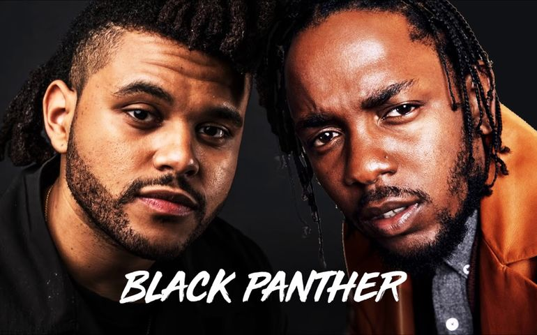 The Weeknd and Kendrick Lamar united on the s/t