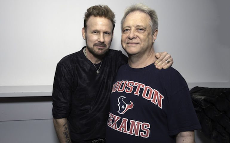 Corey Hart and the author