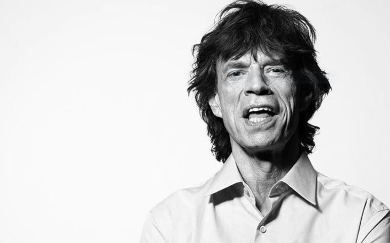 Mick from Rolling Stones Instagram page