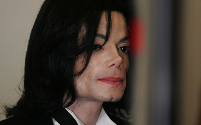 MJ a few years before his death in 2009