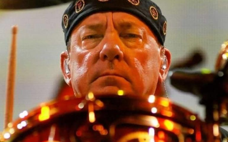 Neil Peart  pic courtesy of Neil Peart Fans FB page