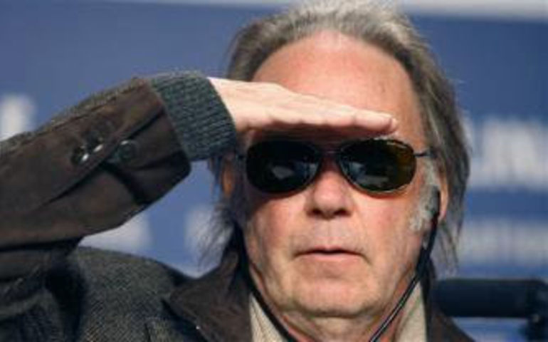 Neil Young salutes us all