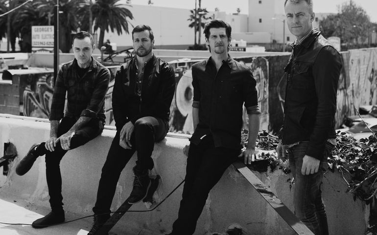 Our Lady Peace is back on the radio with another hit song