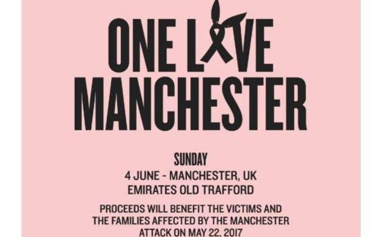 One Love Manchester concert bill