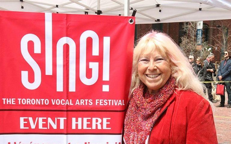 Pat Silver, cappella, SING Festival