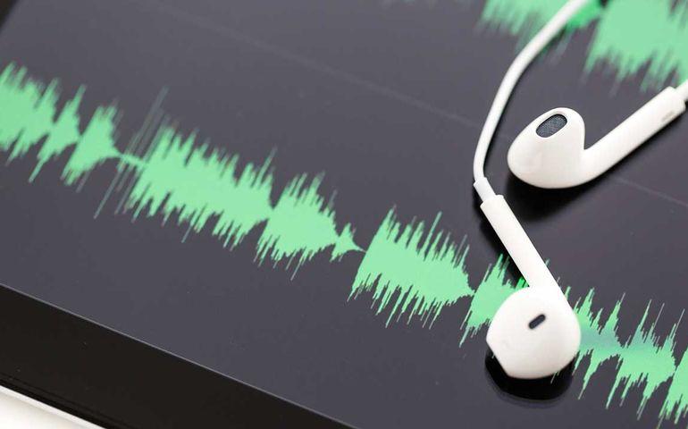 podcast. istock image