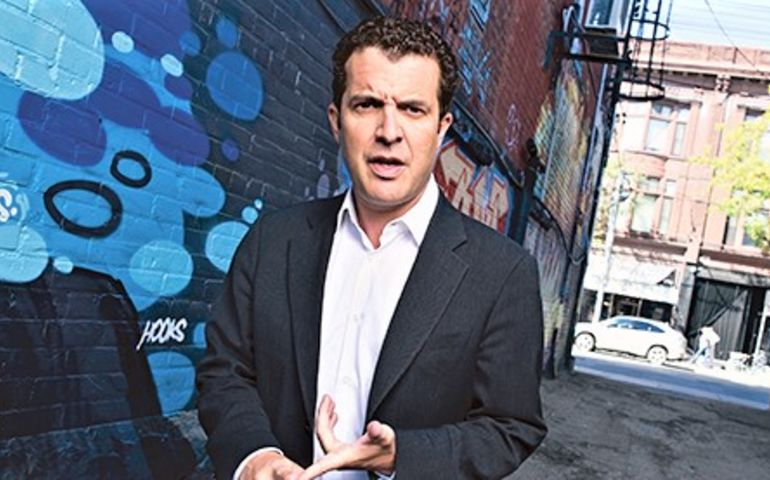 Down in the alley with Rick Mercer