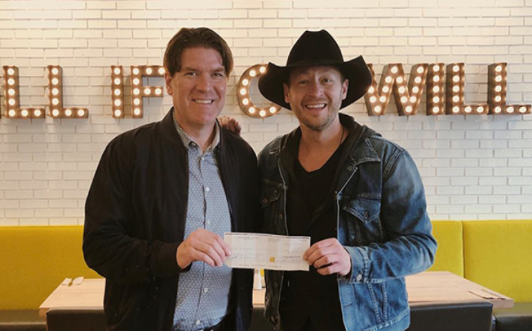 Ron Kitchener and Paul Brandt - photo credit Open Road.