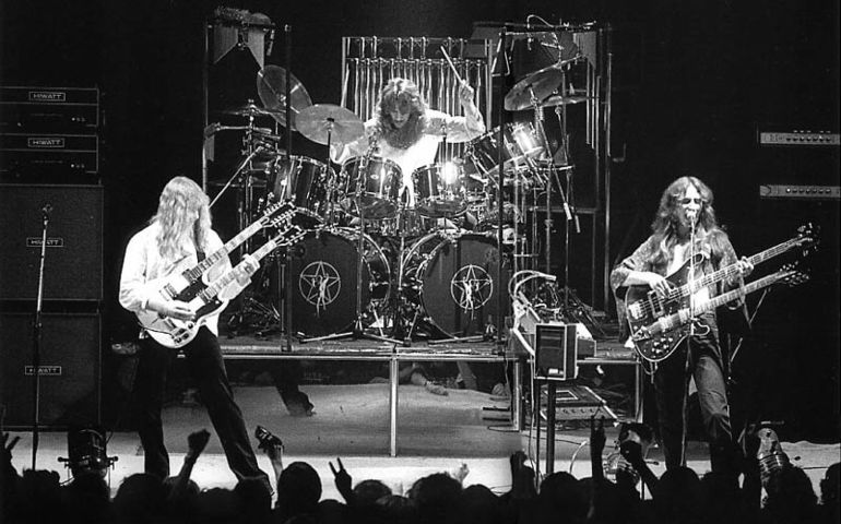 Rush, mid to late sevenies