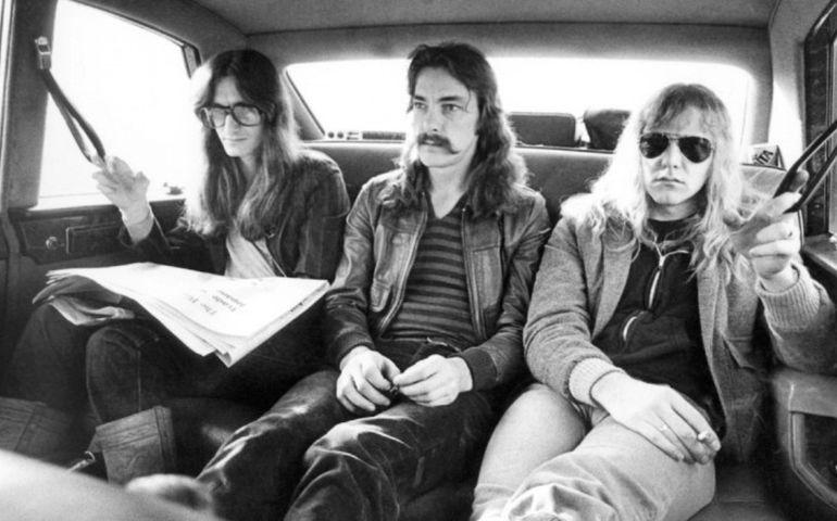 L-R: Geddy, Neil and Alex, circa 1977