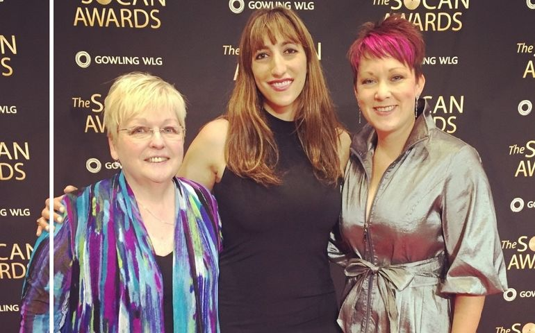 Sheila Hamiilton, Florence K and Amanda Power
