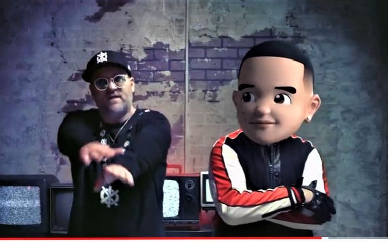 Snow with an emoji of Daddy Yankee from the new hit video.