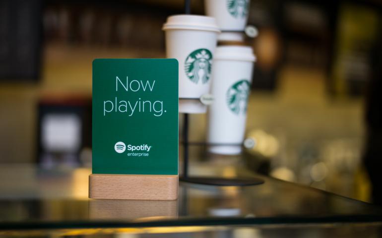 Starbucks Spotify