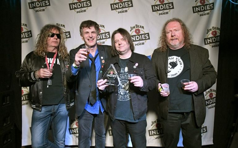Teenage Head inducted into Indies Hall of Fame. Pic: Grant W. Martin