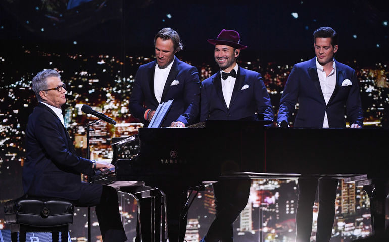 Canada's Walk of Fame gala included an appearance by David Foster with The Tenors. Credit: George Pimentel