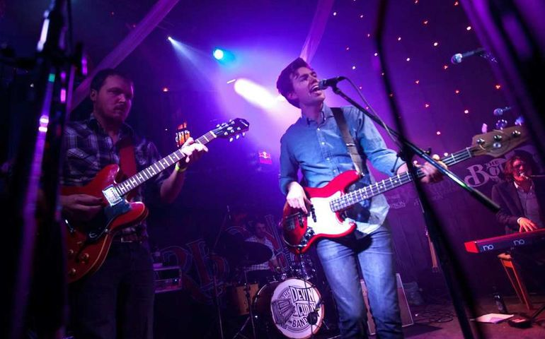 The Devin Cuddy Band at last year's Juno Cup Jam