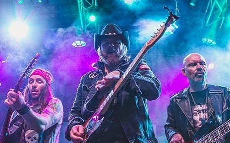 The Road Hammers. Pic credit: Michelle Spice.