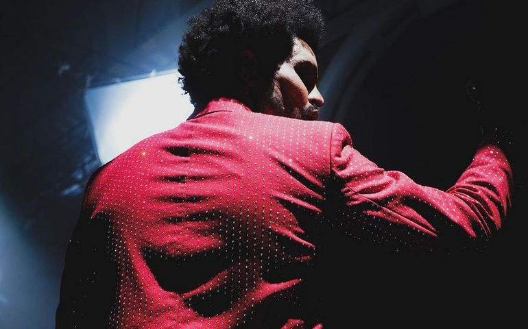 The Weeknd, Instagram