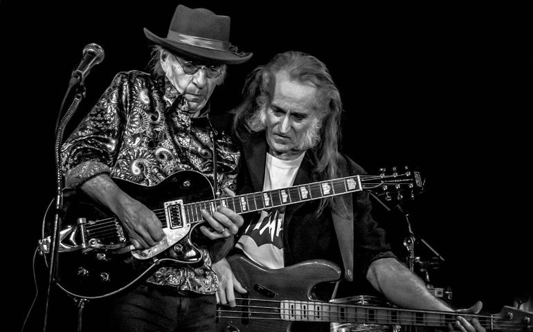 Bill Dillon (l) with Paul RK Wheeler Jr. Photo:  Dave Barker photography