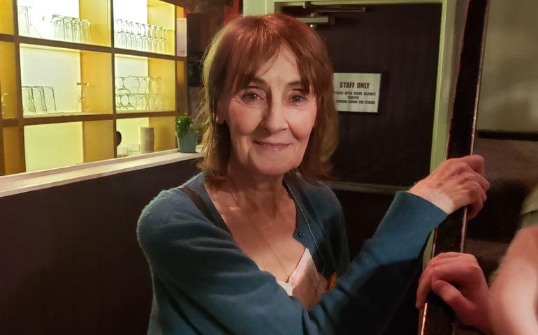 Jane Harbury At Hugh's Room Live  last night.