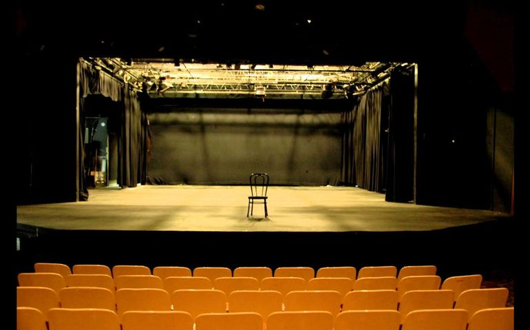 Image: Empty Stage: It's Too Late for This Crap {The Musical}, YouTube
