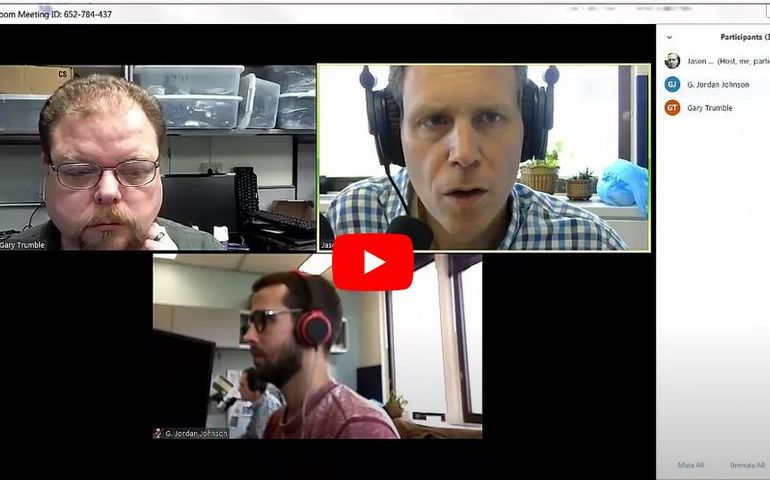 Zoom conferencing is becoming de rigueur during the new reality
