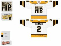 The Kingston Frontenacs' special Tragically Hip-themed jerseys