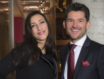 Matt Dusk and fellow Juno nominee Florence K