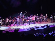 All star finale at Massey Hall for the Jeff Healey celebration. Photo: Mark Gommer