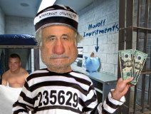 Bernie Madoff lampooned, courtesy of FreakingNews.com
