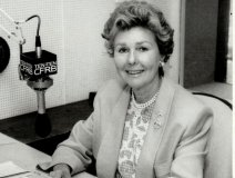 On the Toronto radio station where she hosted her own daily interview show for 27 years. Pic: Frank Lennon, The Star