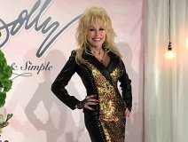 Dolly yesterday. Picture credit: Karen Bliss