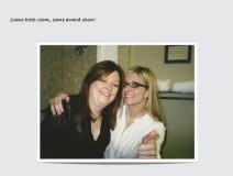 Sheri Jones (l) with client and good friend Kim Stockwood