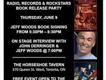 Jeff Woods takes his new book to the fans at The Horseshoe tonight.