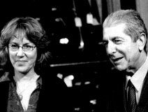 Jennifer Warnes and Leonard Cohen in an earlier time together.