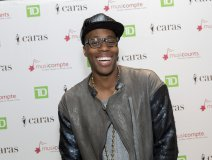 Kardinal Offishall at the MusiCounts celebration in Toronto on Friday. Photo: Barry Roden