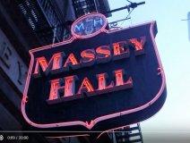 Massey Hall online concert series logo